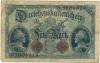 Billets de banque - Mark allemand datés de la Première Guerre Mondiale