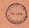 DEMANDE D'AIDE / CACHETS DE PARIS
