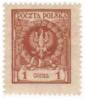 Die Postwertzeichen von Polen in Goldwährung 1924 - 1932
