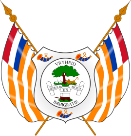 2000px coat of arms of the orange free state