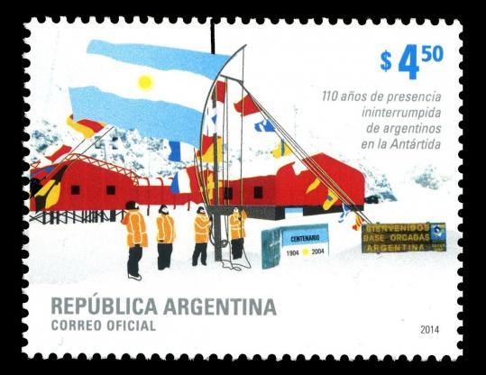Argentina 2014 stamp
