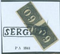 Brasil brazil cancel sergipe p a 1844