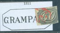 Brasil brazil red cancel grampara p a 1311