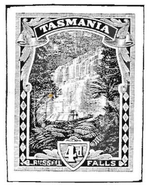 Epreuves Et Essais Des Timbres De Tasmanie 1899