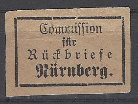 Comission fur ruckbriefe