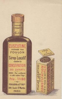Cuscutine sirop laxatif