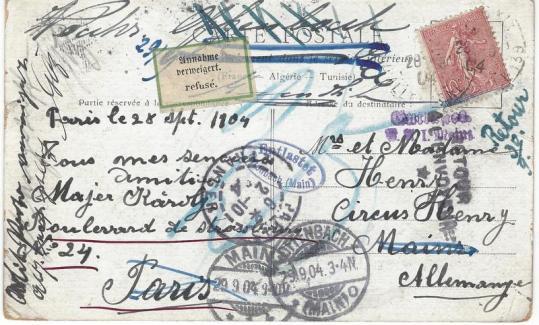 Etiquettes postales