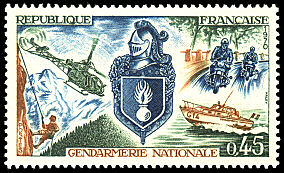 Gendarmerie 1970