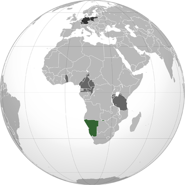 German sw africa map