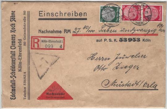 Hindenburg nachnahme1