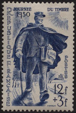 Journee du timbre 1950