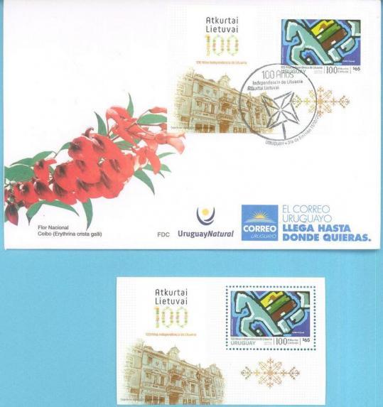 Lituania 100 anos de su independencia 2018