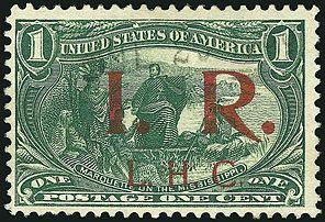 Transmississippi overprint revenue 1c 1898